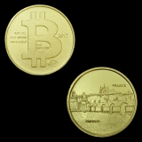 0.01 BTC Prague - UNESCO 2017, 0.31 gram 999.9 Au